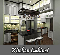Kitchen & Cabinet